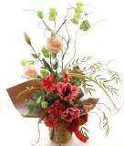 還暦祝い 還暦の花ラッピング19