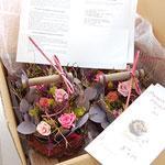 海外発送の花 事例4