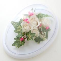 ブライダルブーケ、花の保存 プリザーブドフラワーへ加工アレンジ27
