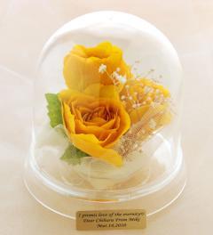 ブーケ、花の保存 プリザーブドフラワーへ加工アレンジ28