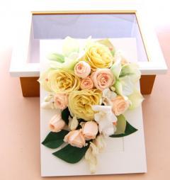ブーケの花を保存 プリザーブドフラワーへ加工アレンジ33