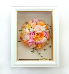 生花、ブーケの保存 プリザーブドフラワーへ加工アレンジ32