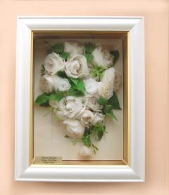 ブーケ、式後の花の保存  プリザーブドフラワー加工43